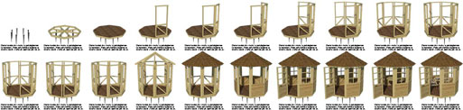 luxury cabin shed cottage plans construction