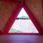 playhouse with loft window