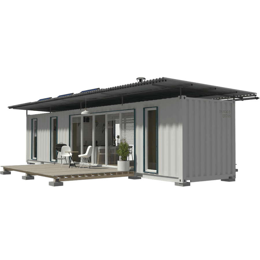 40ft shipping container house floor plans with 2 bedrooms - 40ft shipping container home ...