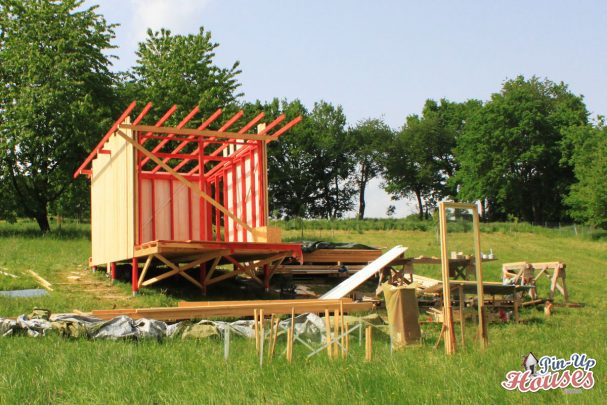 wooden cabin roof construction pinuphouses