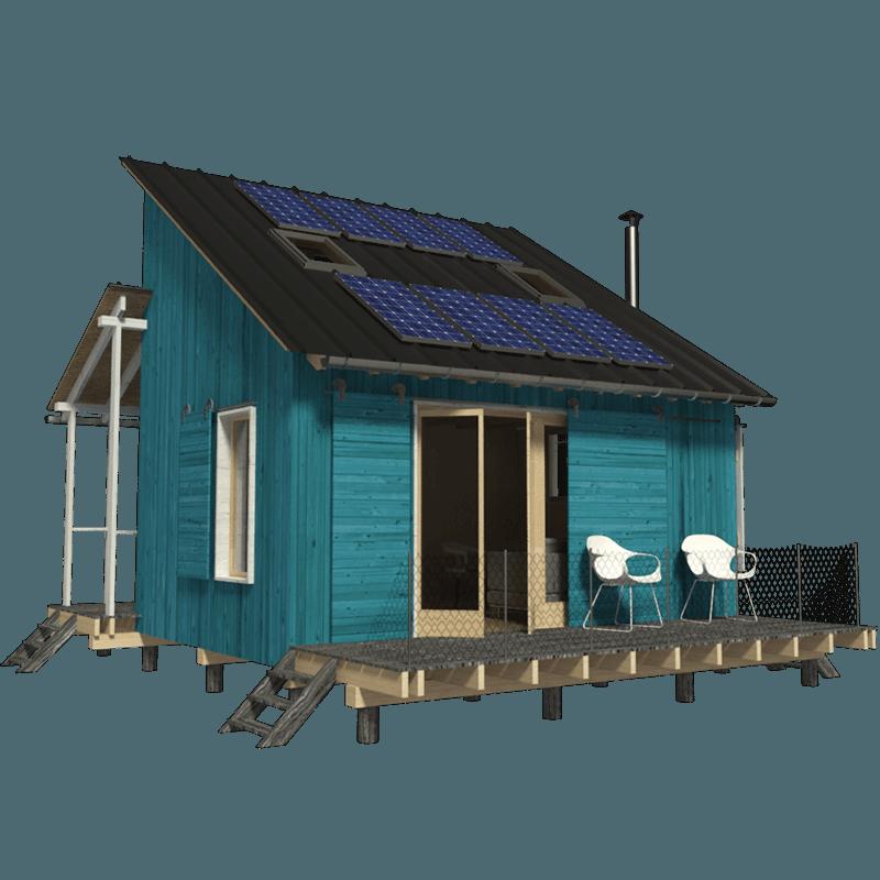 Clerestory Cabin Plans Grace