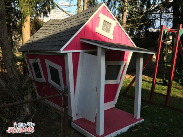 DIY cheap kids playhouse plans
