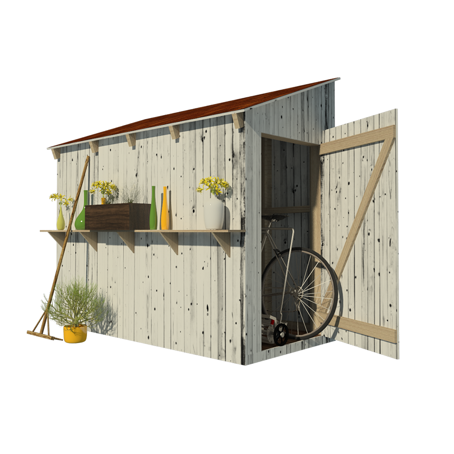 Lean to shed plans for Garden shed plans
