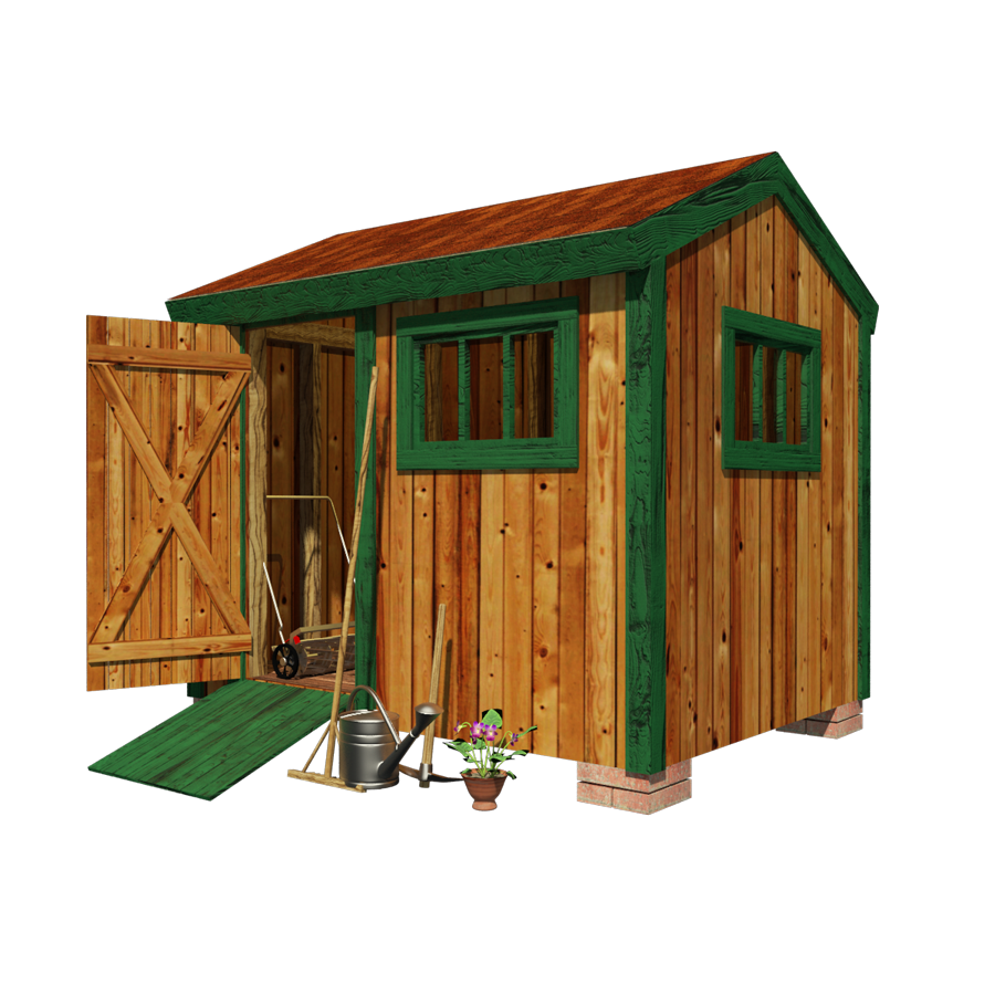 Garden tool shed plans for Outdoor tool shed