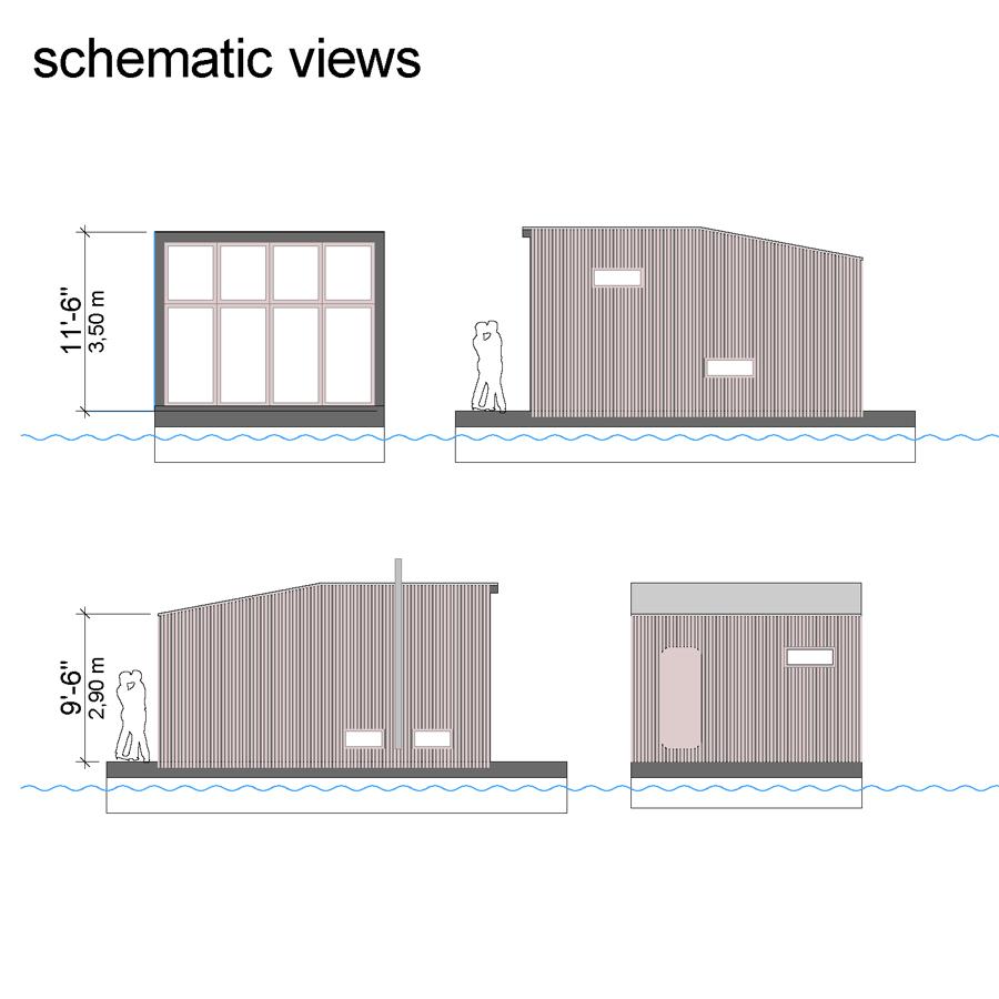 floating home floor plans