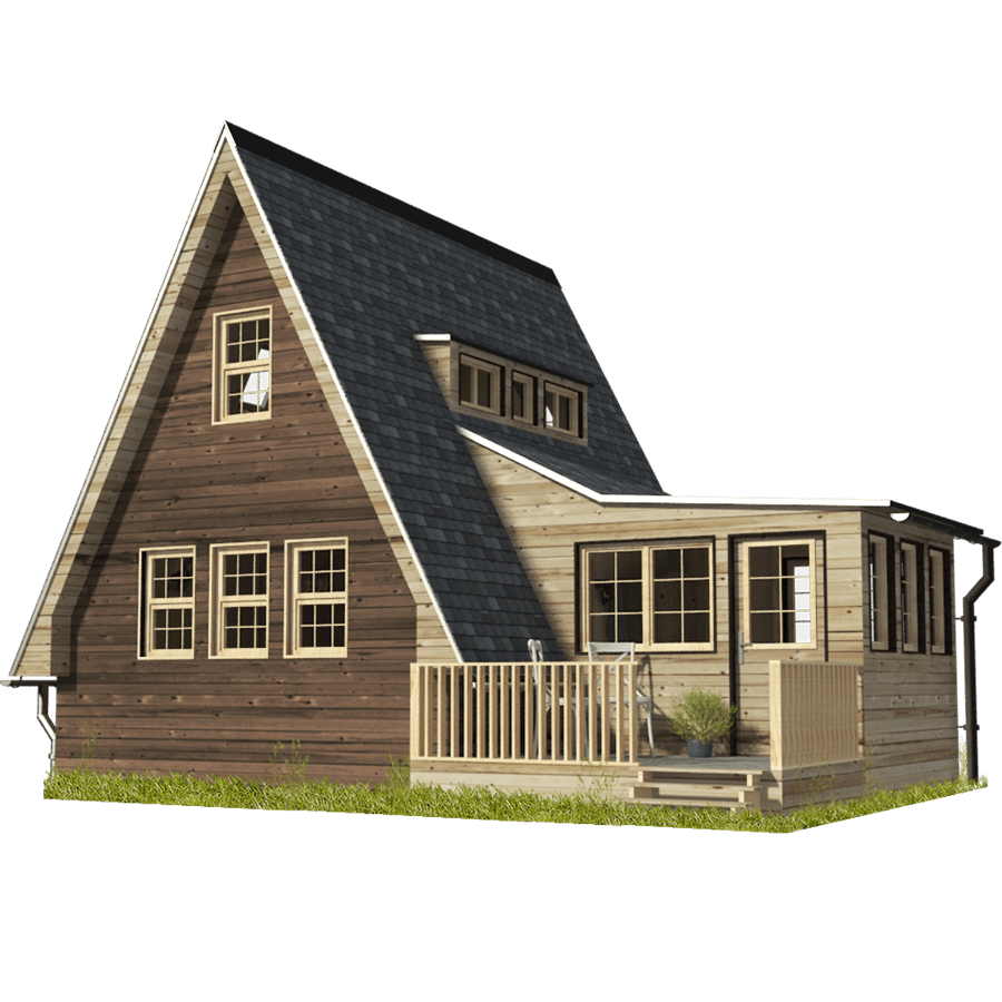 A-Frame Cottage Plans