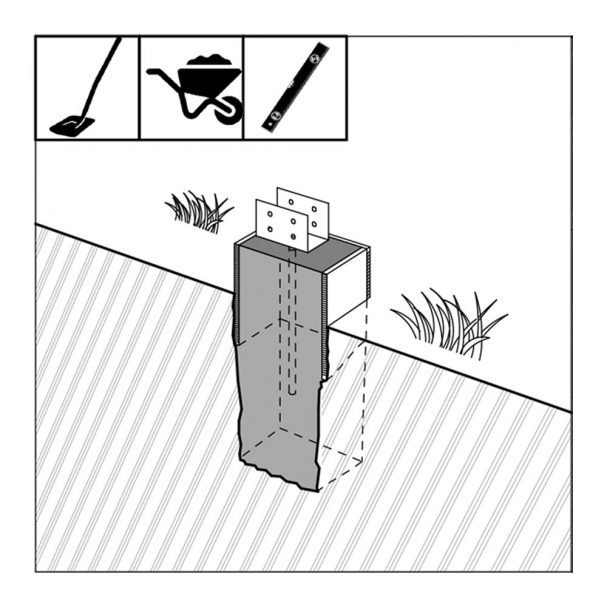 bolts for concrete blocks foundation