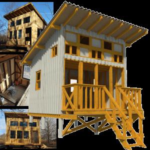 DIY small cabin plans