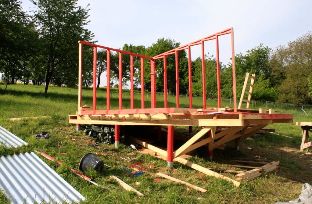 Free cabin plans micro house plans tiny home designs for Free timber frame plans