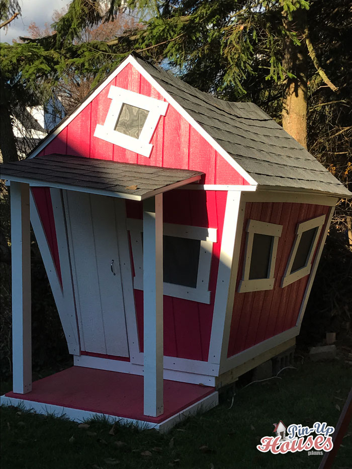 Kids playhouse blueprints built in pittsburgh kids for Cheap blueprints