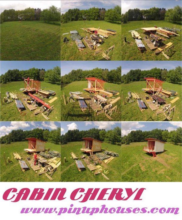 cabin cheryl construction progress