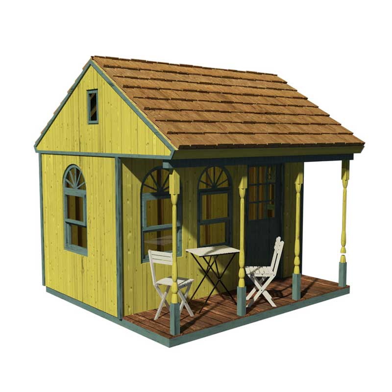 Victorian shed plans for Cool cabin plans
