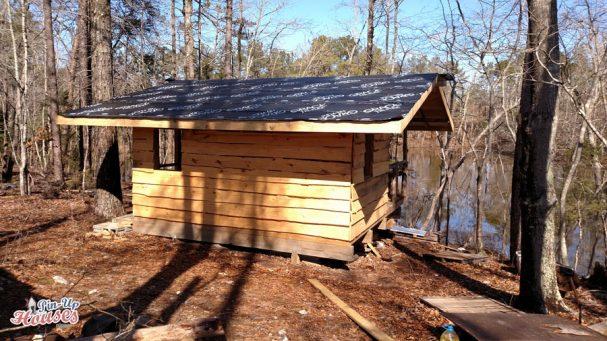 building DIY small cabin
