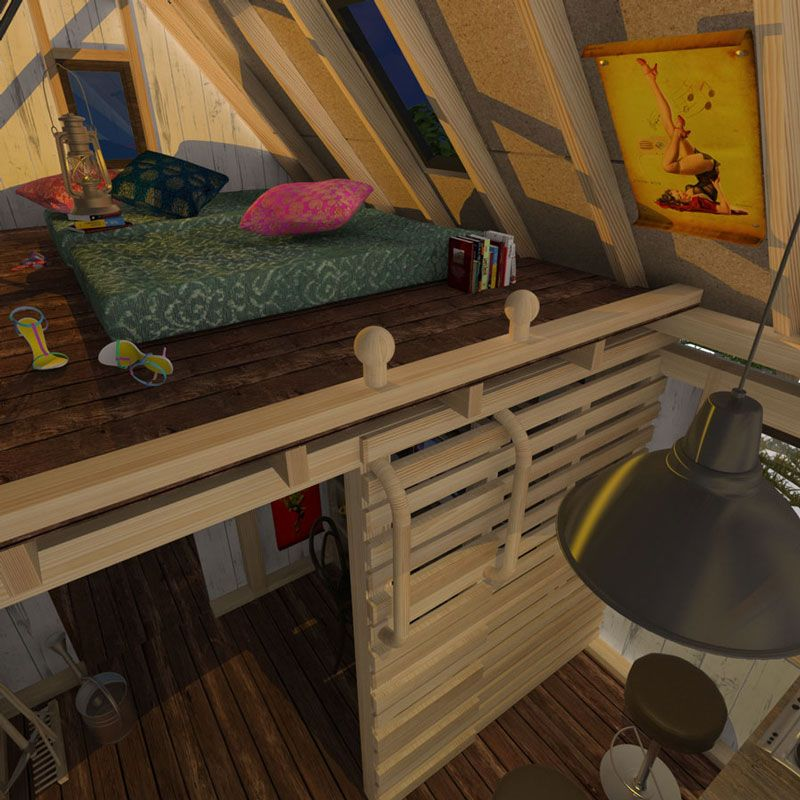Camping cabin plans - Cool cottage plans ...