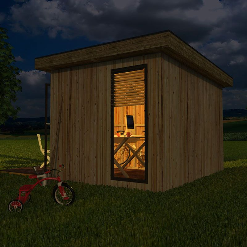 Modern garden shed plans for Very small garden sheds