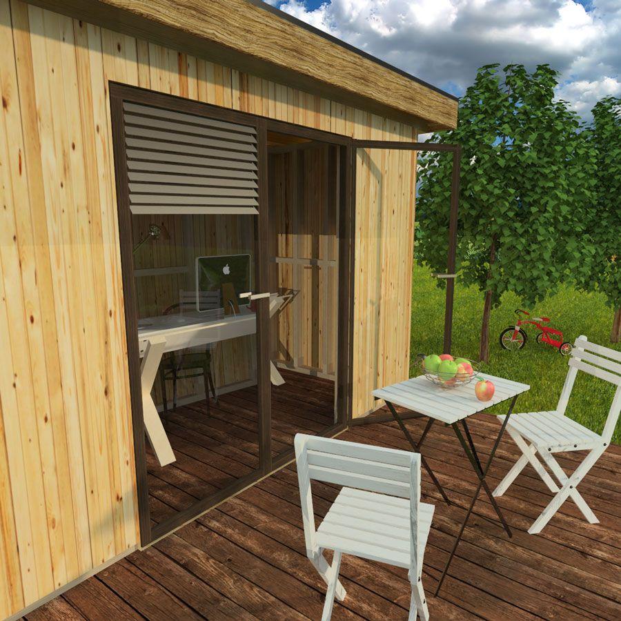 ^ Modern garden shed plans