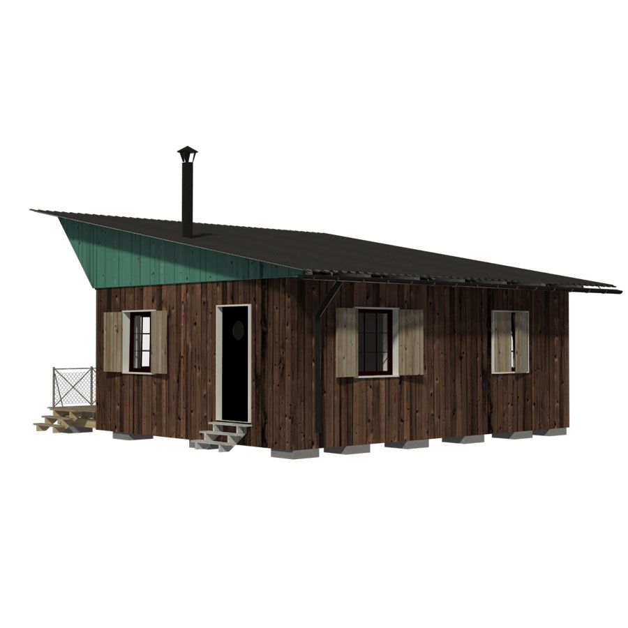 Forest Cottage House Plans