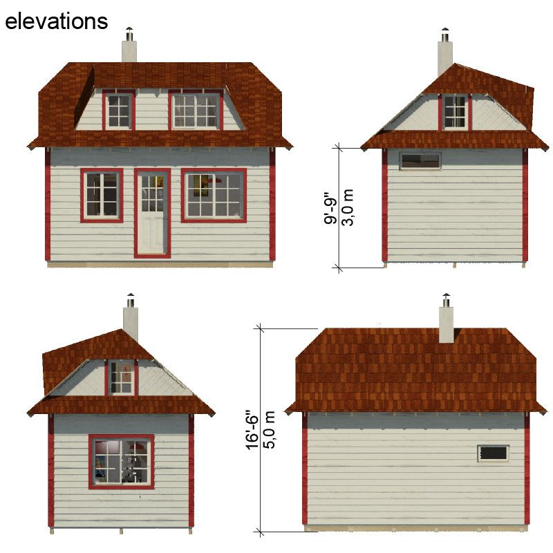 Family Tiny House Plans - Tiny house design tool