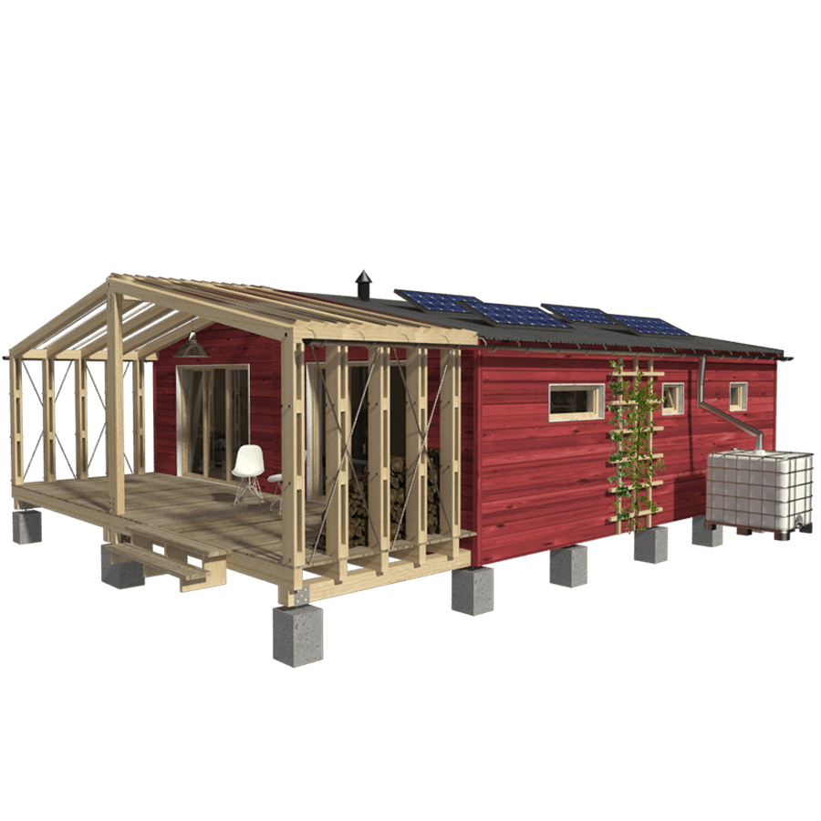 Expandable Small House Plans Small Homes Cabins Pin Up Houses