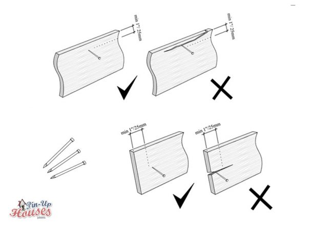 cabin siding option, how to attach exterior board cladding