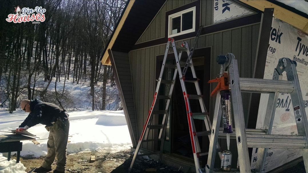 vinyl siding for cabin ann