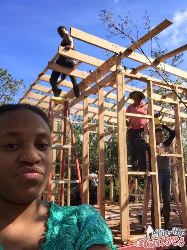 building walls frames and having fun