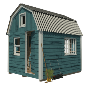 gambrel-roof-garden-shed