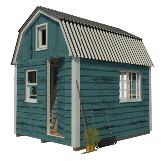 Gambrel Roof Shed Plans Sonja