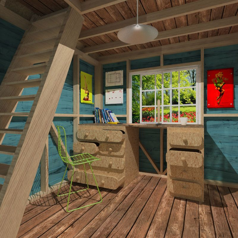 Gambrel roof shed plans for Gambrel cottage plans