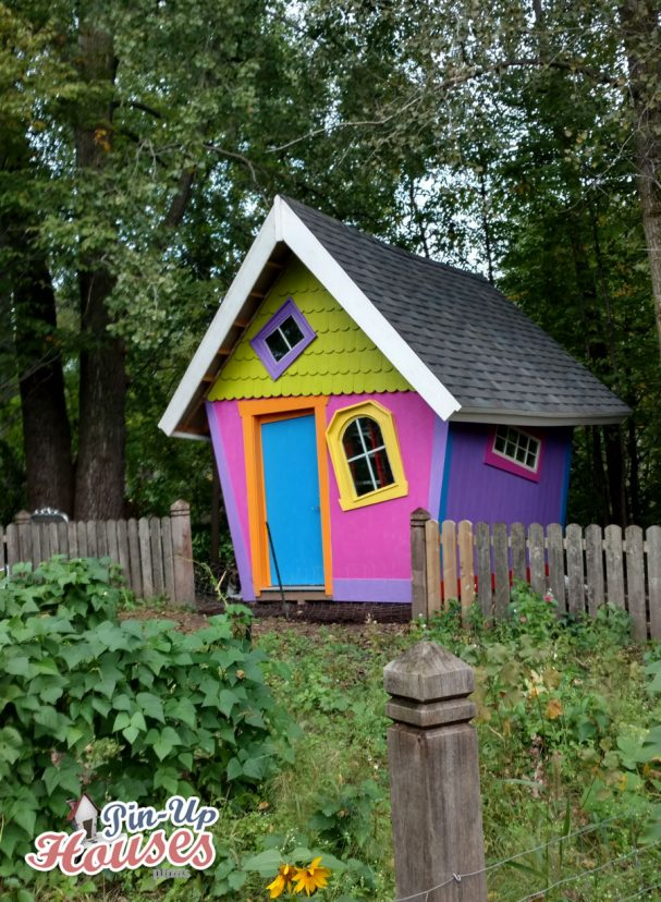 kids playhouse plans transformed into garden shed with gable roof
