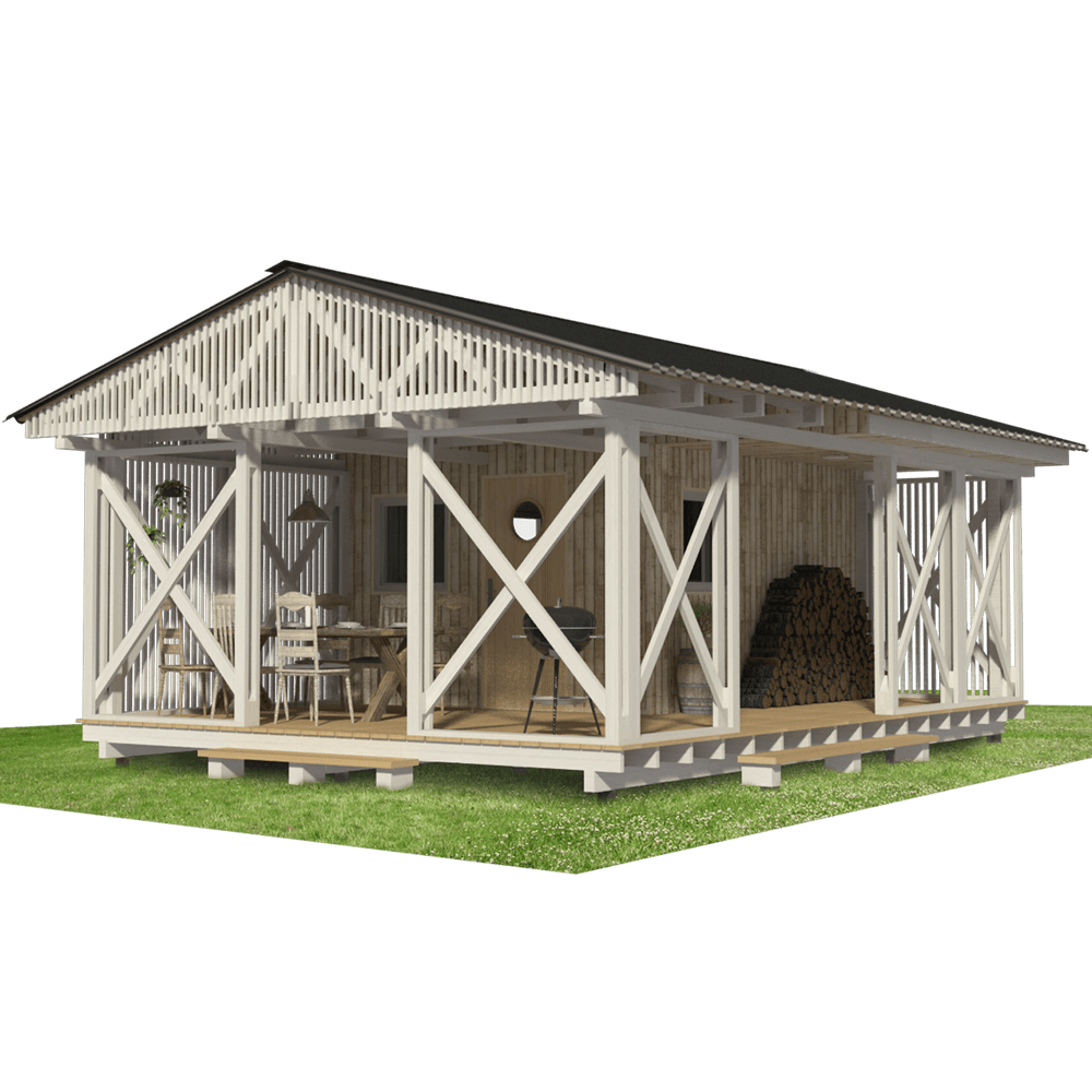 Garden Storage Shed Plans Pin Up Houses