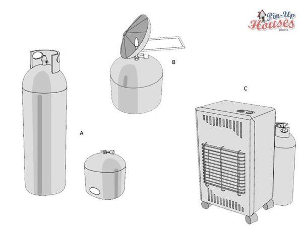 tiny homes gas heaters