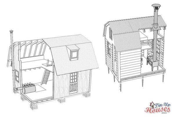 tiny houses heating