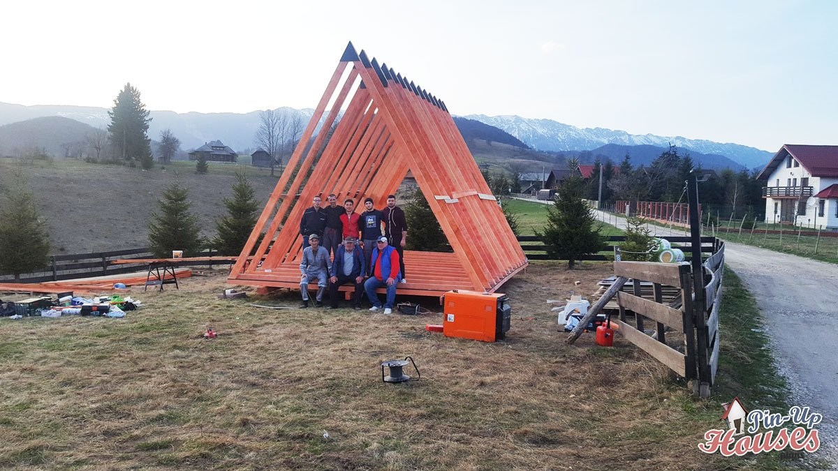 Small A-Frame House in Romanian Carpathia – Part 1 - Small
