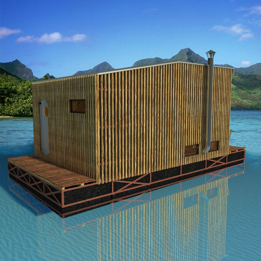 Floating house plans for Building a floating home