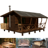 hunting-cabin-plans