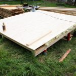 insulated timber floor for cabin construction