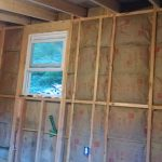 sash window/ cabin framing