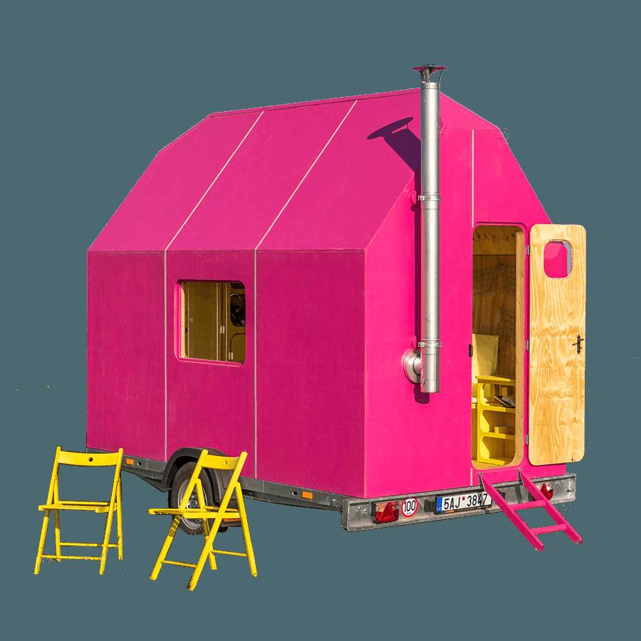 Tiny Home Designs Plans: Magenta Tiny House Plans