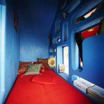 wooden DIY house bedroom
