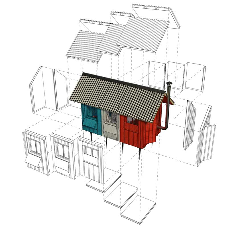 France Tiny House Plans - Tiny home plan