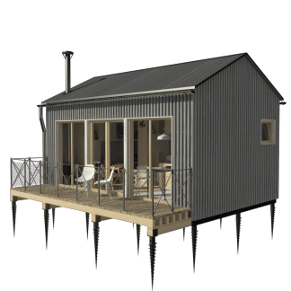 One Room Cottage Plans