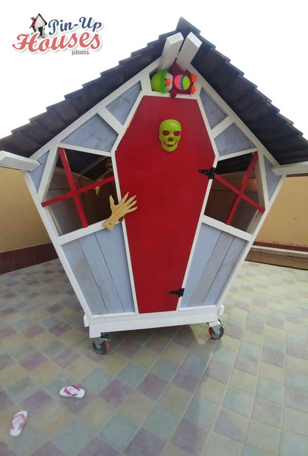 wooden playhouse for kids