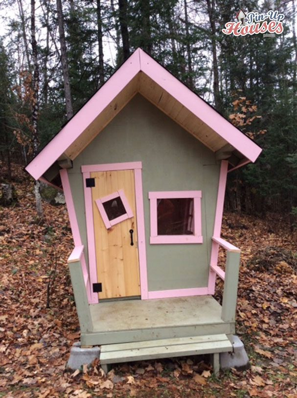 playhouse in the woods