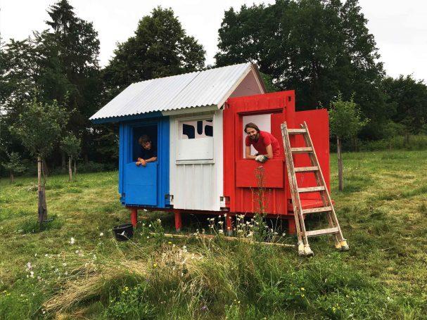 prefab modular wood cabins design