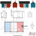 prefab tiny house drawings