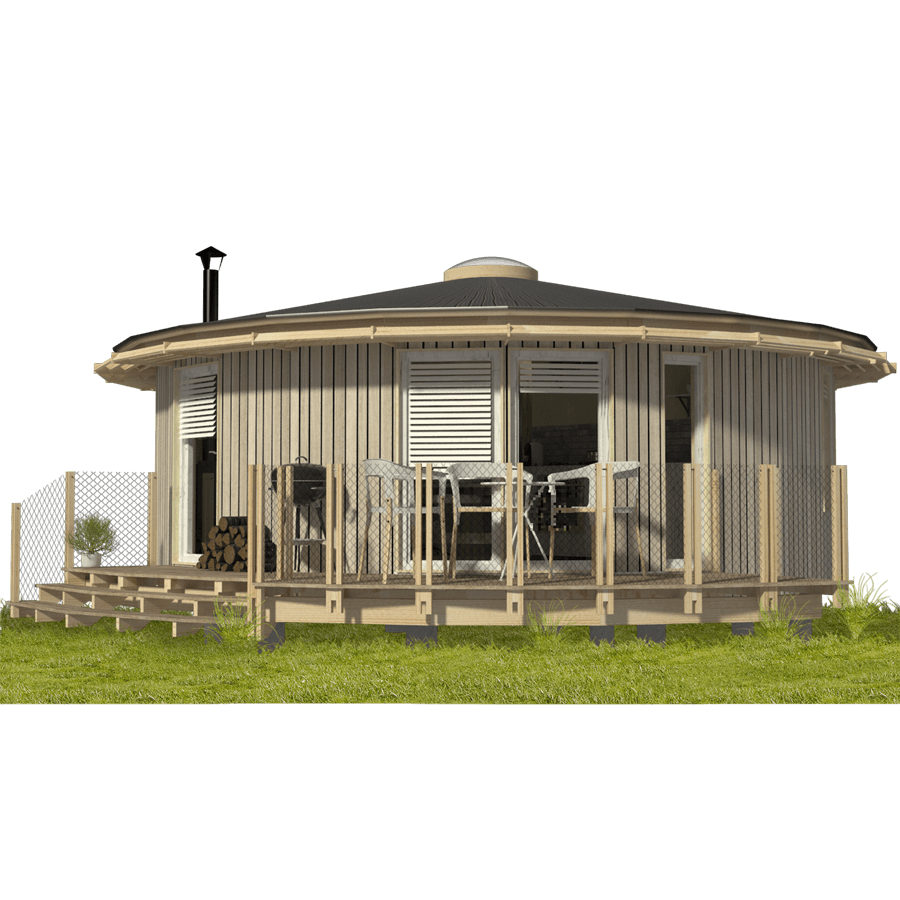 Round House Building Plans