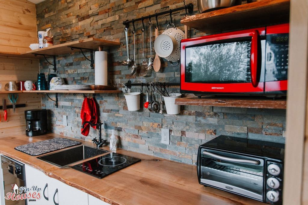Picking The Best Appliances For Your Tiny House 6 Expert Tips Small Wooden Plans Micro Homes Floor Cabin