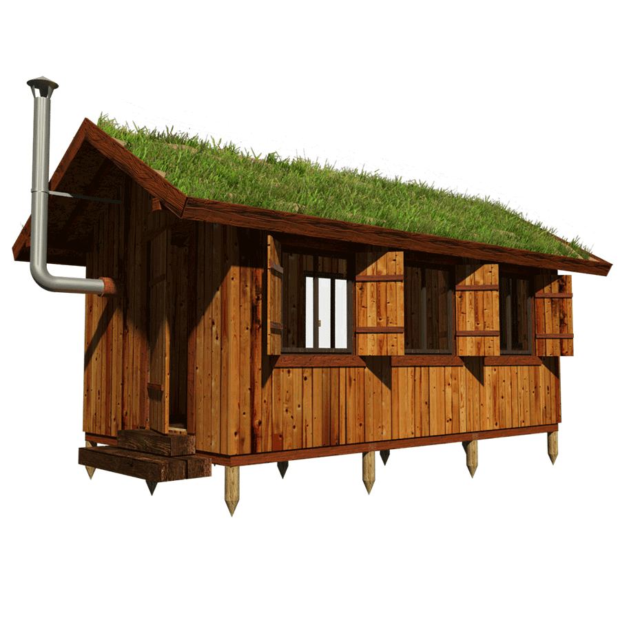 Green Roof Shed Plans