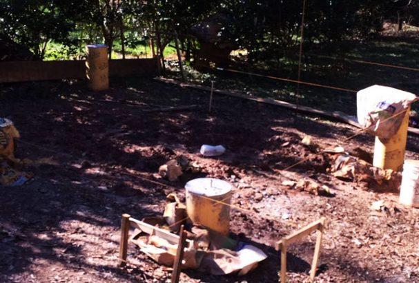 cabin foundations DIY measurements